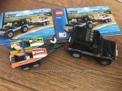 Конструктор LEGO City Внедорожник с катером 60058