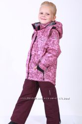 Зимний термокомплект куртка и брюки Beeasy 2018RD4 розовый р. 80-134