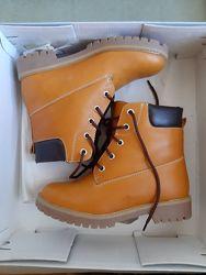 Кожаные ботинки Braska рр 34