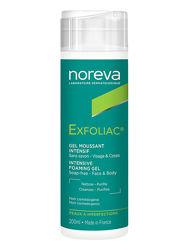 Очищающий пенящийся гель с AHA Noreva Laboratoires Exfoliac Gel Moussant