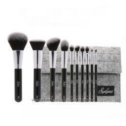 Профессиональный набор  кистей для макияжа 10 штук аналог Zoeva В НАЛИЧИИ