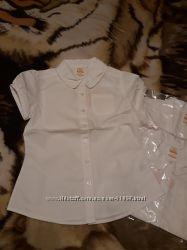 Блузка Gymboree белая новая 10-12 лет. Супер качество