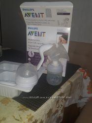 Молокоотсос  Phillips Avent в идеальном сост и пакеты для хранения молока