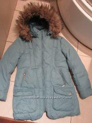 Зимнее пальто Geox, Италия. 10-11 лет. Рост 140-146.