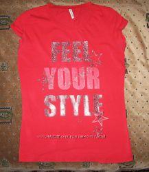 Женская футболка Fishbone р. М и блуза  H&M р. 38
