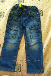 Джинсы, брюки мальчику   на 104-116см