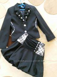 школьный костюм фирмы HERDAL, размер 7-8 лет