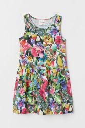 Платье Тропический лес, KATE MORGAN STUDIO X H&M, 077426101