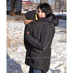 Новая куртка 3 в 1 размер М деми беременность, слингоношение Распродажа