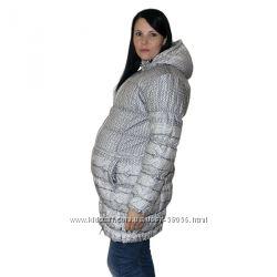 Очень теплая зимняя куртка для беременных М. Новая