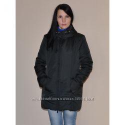 Новая зимняя слингокуртка черная размер L