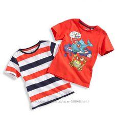 футболки для мальчиков, летние комплекты от C&A , H&M