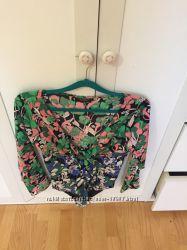Боди комбидрес блуза Zara