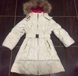 Пуховое пальто Huppa