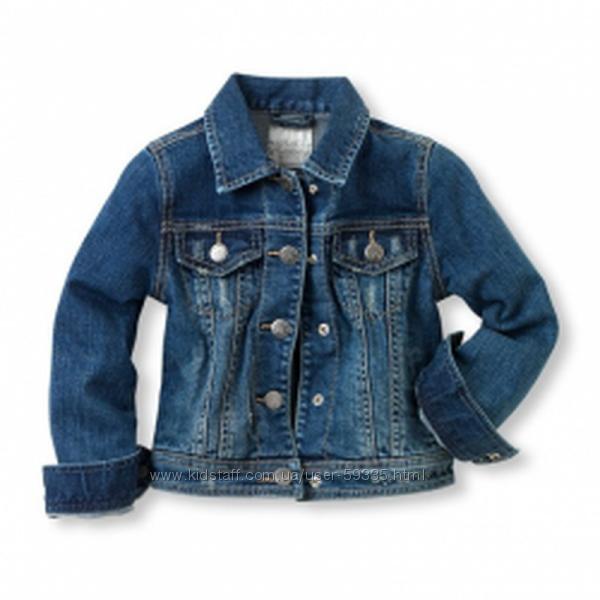 Модная джинсовая куртка children&rsquos place