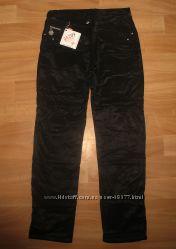 Черные брюки на флисе. Девочкам. Супер цена на последние.