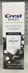 Зубная паста Crest Charcoal 3D White Toothpaste, Deep Clean