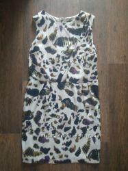 Красивое летнее платье Topshop 10 разм из вискозы