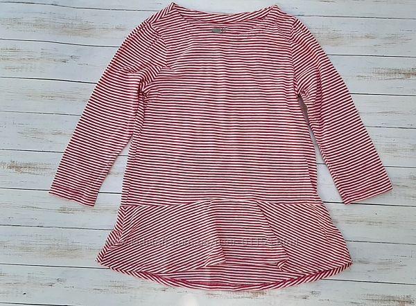 Детская кофта для девочки в полоску розовая или сиреневая