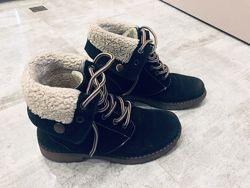 Ботинки 35/36 размер, зима