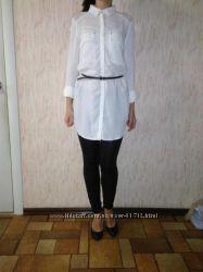 Удлиненная рубашка блузка-туника Tally Weijl