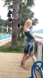 Туника пляжное платье Германия бренд, новое хс, с, м, л