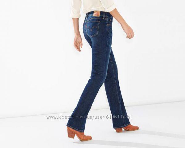 LEVIS 415 женские классические джинсы boot cat W31, W32 подбор размера