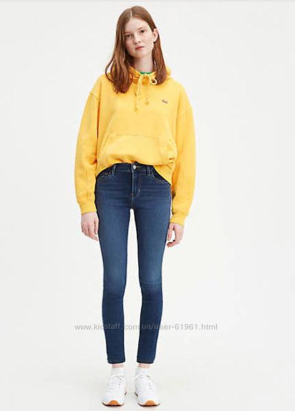 LEVIS 710 Super Skinny Jeans  джинсы скинни W25 W26  27 цвета