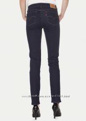 Женские джинсы Levis 712 slim W25 W26  темносиние