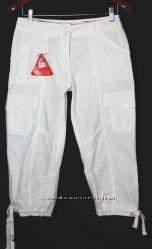Летние белые штаны хлопок casual бренд SOUTCH  Великобритания С, М, Л