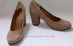 Туфли  женские замшевые Best Connections 23. 5 см, 25, 5  см