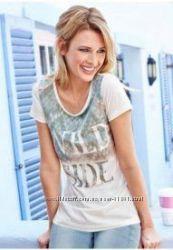 Комфортная  женская футболка Corley С, М, Л Германия бренд  новая не сток