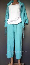 Шикарный костюм лен  вискоза  SOUTCH  Англия новый  М наш 46 48