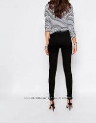 Черные джинсы скинни с высокой посадкой AJC Германия С, М, Л