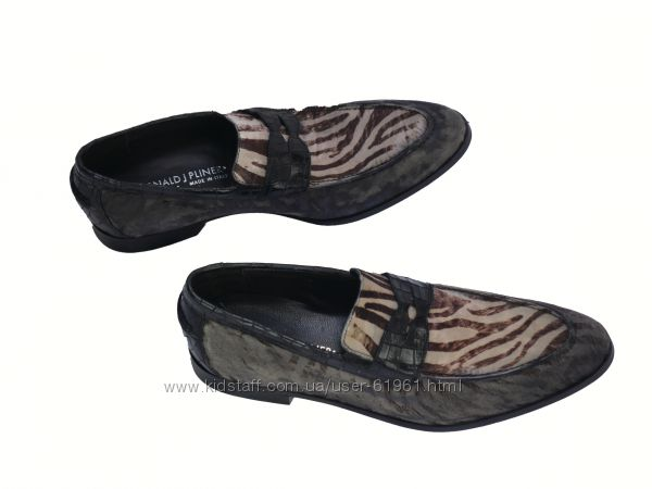 Мужские туфли лоферы Donald J pliner обувь люкс  27. 5 см 41 размер