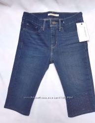 Женские шорты по колено LEVIS c подтяжкой фигуры высокая посадка LEVIS 311