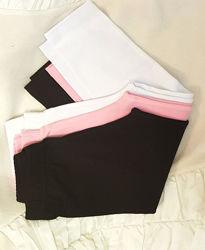 Черные, белые, розовые, малиновые лосины леггинсы отличного качества хлопок