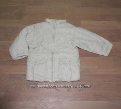 Курточка молочного цвета Mini Mexx