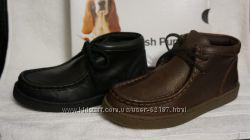 новые отличные для школы кожаные ботиночки Hush Puppies 32, 34, 35, 38европ