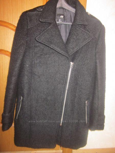 Теплое пальто-косуха h&m размер xs-s