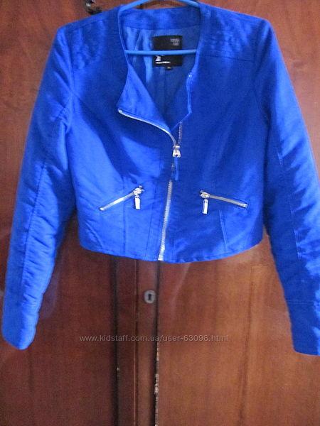 Легкая куртка-косуха tally weijl  рост 155-158-160, состояние новое