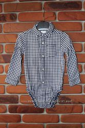 Рубашка-боди Carters, размер 24М