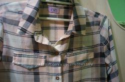 стильная рубашка для девочки F&F