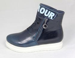 ботинки демисезонные для девочек, размеры от 27 по 38, разные модели