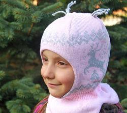 Шлемы шапки от ТМ Бабасик, размеры 50-52 в наличии