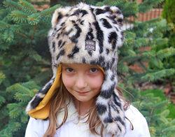 шапки ушанки девочкам Dembohouse и Babasik размеры 52-56 выбор моделей