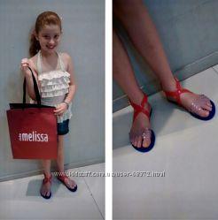 Яркие бразильские сандалии MELISSA для девочек  пахнут жвачкой , Оригинал