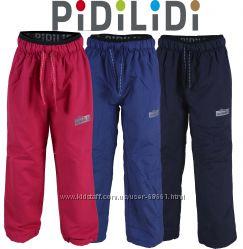 Деми штаны на флисе не промокаемые до -5 р. 86-158 ТМ Pidilidi
