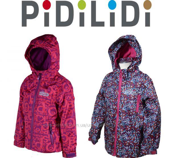 Демисезонные Термо ветровки для девочек Outdoor 86-164р ТМ Pidilidi