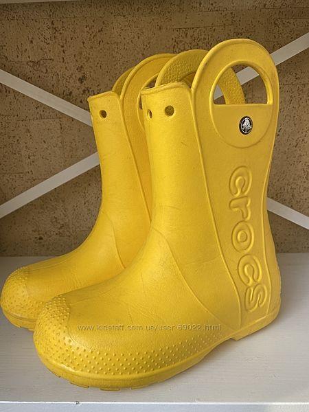 Сапоги резиновые Crocs